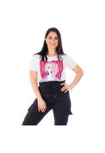 Tshirts Maranne Manga Curta Face