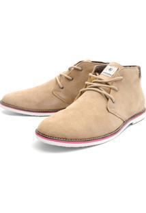 Bota Casual Magi Shoes Confortável Areia