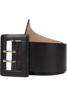 Cinto Couro Shoestock Básico Color Feminino - Feminino