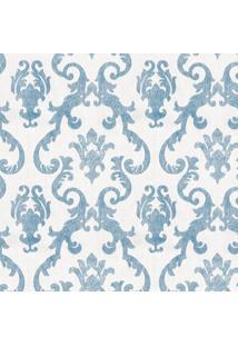 Papel De Parede Arabesco Azul (950X52)