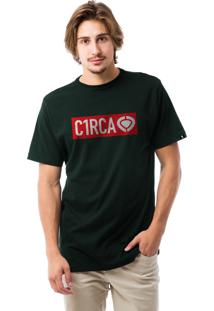 Camiseta C1Rca Framed Verde Escuro