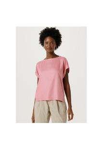 Camiseta Feminina Em Viscose Hering