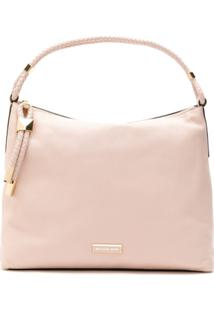 Michael Michael Kors Bolsa Shoulder Lexington De Couro - Rosa