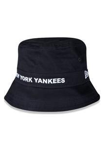 Chapéu Bucket New Era New York Yankees Marinho