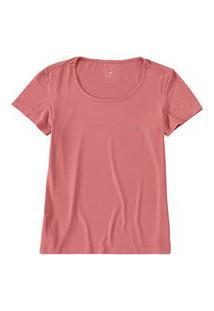 Camiseta Feminina Malwee 1000079140 Rosa