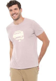 Camiseta Richards Vacation Rosa