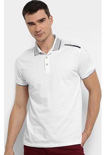 Camisa Polo Calvin Klein Est Ombro Masculina - Masculino