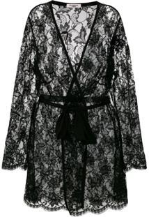 Gilda & Pearl Kimono Knightsbridge - Preto