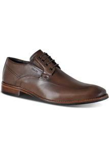 Sapato Social Ferracini Caravaggio Masculino - Masculino-Café