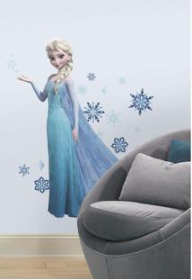 Frozen Elsa Com Glitter