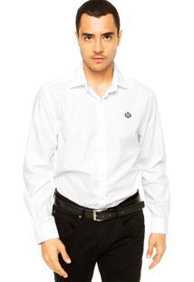 Camisa Forum Bordado Branca