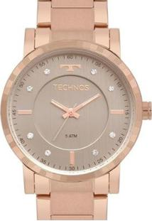 Relógio Technos Feminino Trend - Feminino-Rosê