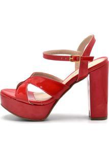 Sandã¡Lia Gasparini Tiras Vermelho