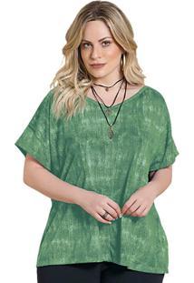 Blusa Plus Size Verde