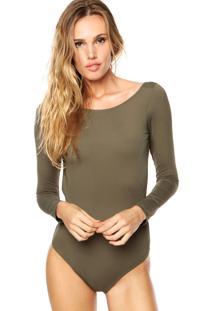 Body Brigitte Liso Verde
