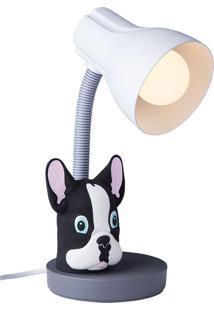 Luminária Infantil Buldog - Startec - Cinza