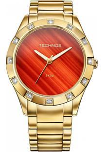 09a331c0cbf Zattini. Relógio Technos Feminino Unissex Dourado ...