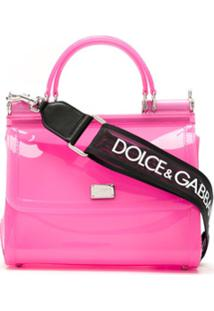 Dolce & Gabbana Bolsa Tote Sicily - Rosa