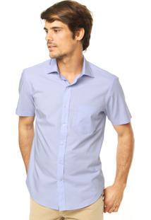 Camisa Richards Reta Azul