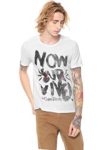 Camiseta John John Now Survive Branca
