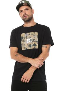 Camiseta Dc Shoes Square Preta