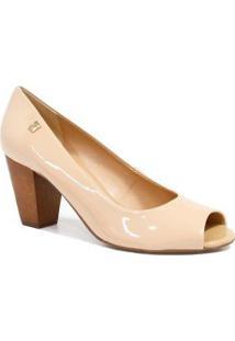 a625636a8 Peep Toe Classico Nude feminino | Shoelover