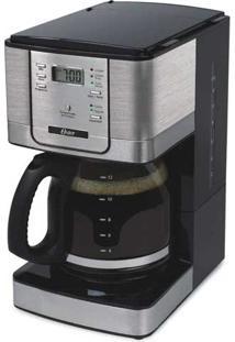 Cafeteira Elétrica Flavor Oster - Programável, 36 Xícaras, C Seletor De Intensidade De Pó, Filtro Removível, Timer, Mantém O Café Aquecido Por 2 Horas