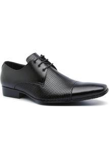 Sapato Masculino Estilo Social 307 Cor Preto Keep Shoes - Masculino