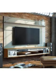 Painel Para Tv 60 Polegadas Opera Iv 2 Gv Off White Com Freijã³ Touch