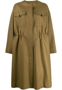 Rochas Ropp Coat - Verde