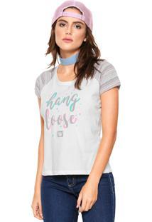 Camiseta Hang Loose Oahu Bege