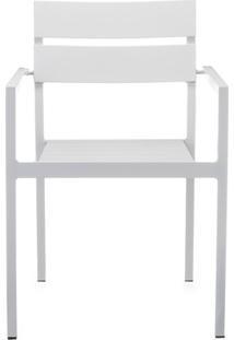 Cadeira Em Alumínio Bahamas Branca