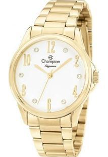 Relógio Champion Elegance Cn26242H - Feminino-Dourado