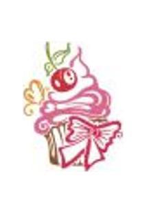 Adesivo Decorativo De Cozinha - Cupcake - 201Cz-M