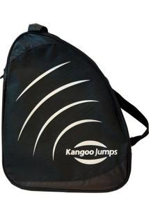Bolsa Kangoo Jumps Kj Bag Preto/Prata - U