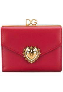 Dolce & Gabbana Carteira Devotion - Vermelho