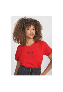 Camiseta Triton Logo Vermelha