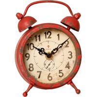 c8445fad83b Relógio De Parede Decorativo Edmond Jaeger De Metal Envelhecido