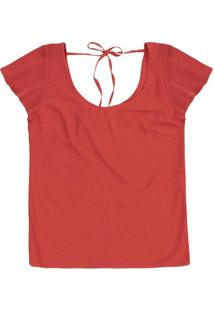 Blusa Feminina Em Tecido Texturizado De Viscose