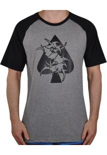 Camiseta Mcd Raglan Sepultura - Masculino