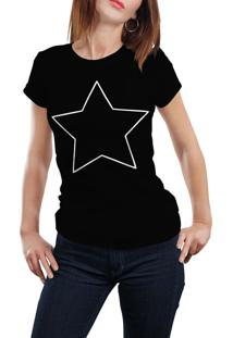 Camiseta Hunter Star Preta