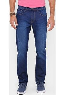 Calça Jeans Reserva Estonada Escura Masculina - Masculino