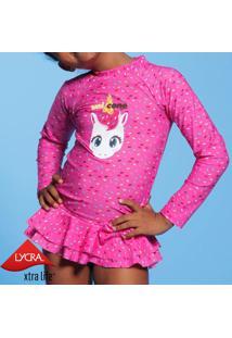 Blusa Unicórnio - Pink & Azulpuket