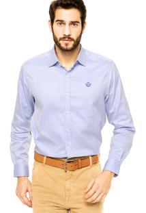 Camisa Forum Listras Azul