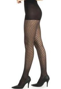 Meia Calça Arrastão Fio20 Trifil - Feminino