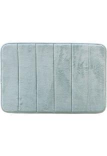Tapete De Banheiro Super Soft- Azul Claro- 60X40Cm
