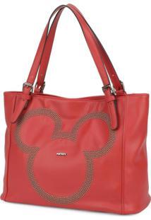 Bolsa Luxcel Mickey Mouse Vermelha