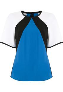 Reinaldo Lourenço Blusa Triângulo Colorblock - Estampado