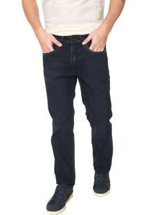 Calça Jeans Aramis Reta Barcelona Azul-Marinho