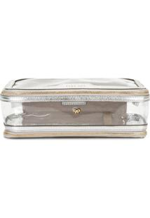 Anya Hindmarch In-Flight Pouch - Metálico